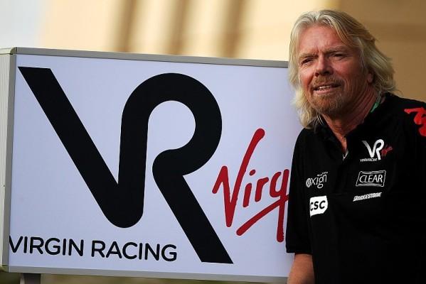 Branson steht hinter seinem Team: Virgin Racing kostet Tank nichts