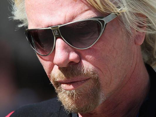 Branson will Red Bull besiegen: Hochgesteckte Ziele