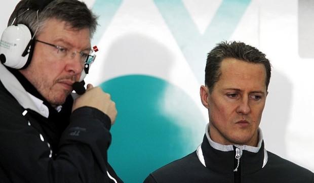 Brawn zweifelt an Schumacher-Titel : Begeisterung ist zurück