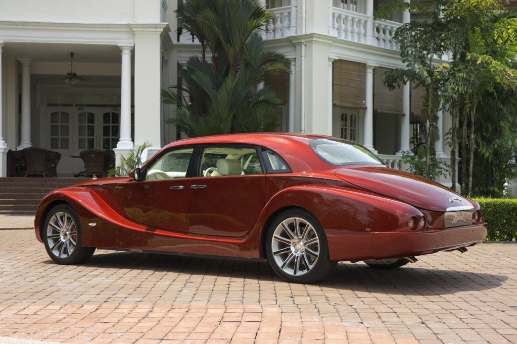 Bufori Geneva - Luxuriöse Retro-Limousine