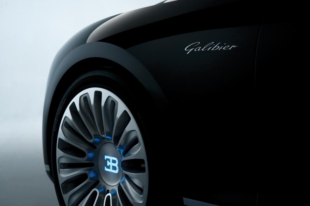 Bugatti 16 C Galibier Concept: Die stärkste Limousine der Welt