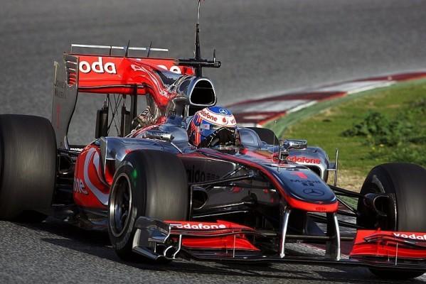 Button: Entschlossener als mit Brawn GP: Der Gejagte