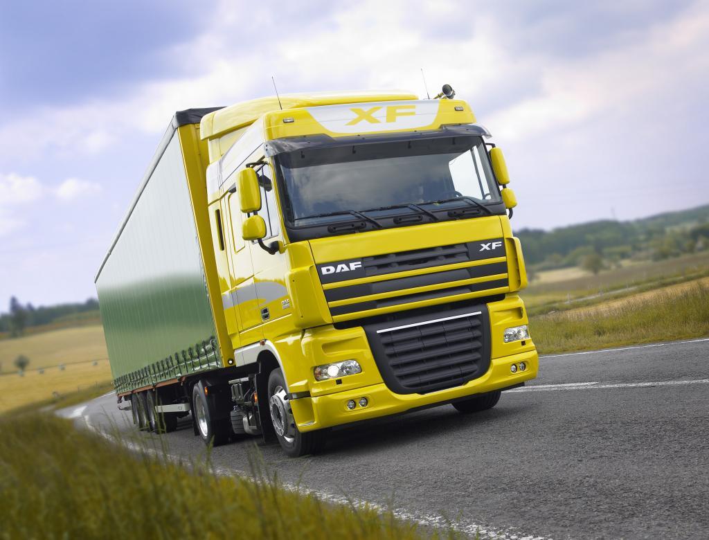 DAF erfolgreichster Anbieter von Sattelzugmaschinen in Europa