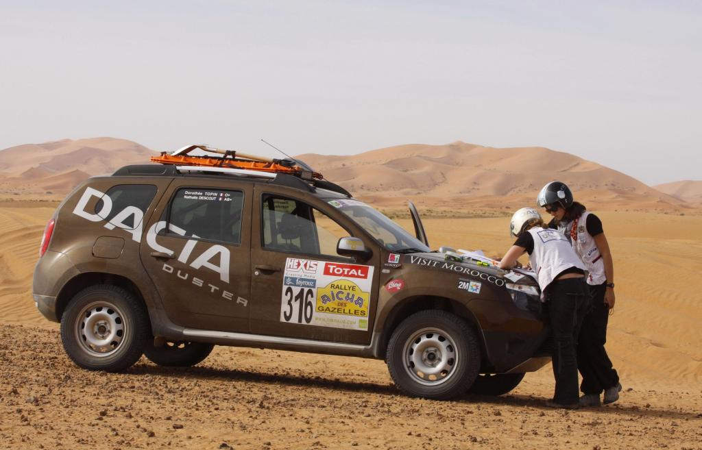 Dacia Duster gewinnt Rallye Aicha des Gazelles