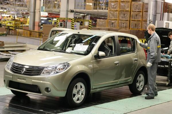 Dacia stockt Produktionskapazitäten in Russland auf