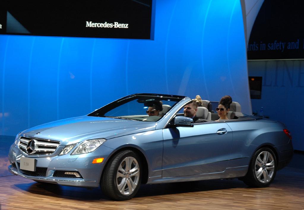 Das neue Mercedes E-Klasse Cabrio.