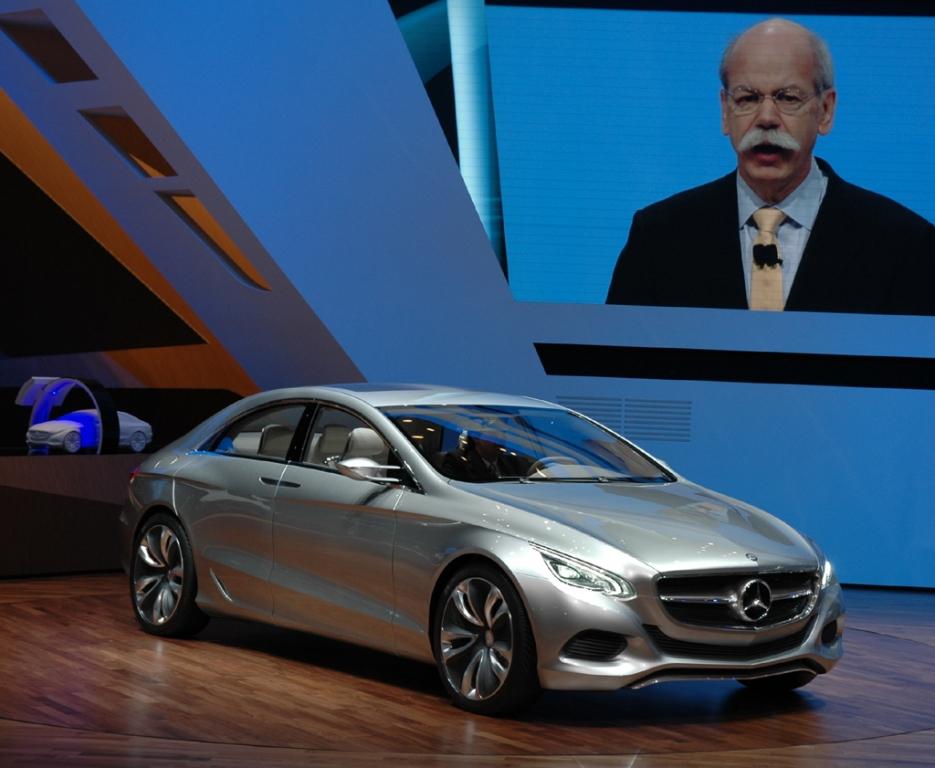 Das neue Mercedes-Forschungsfahrzeug F800 Style.