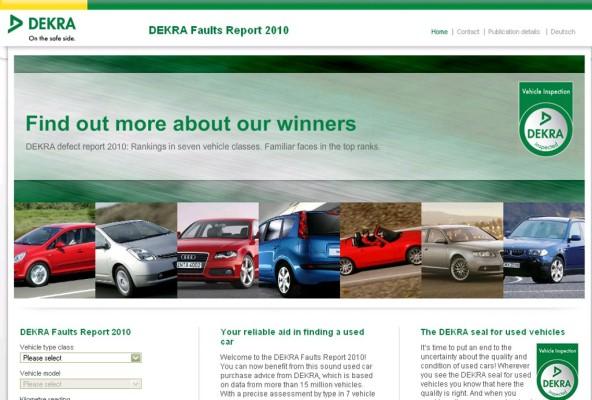 Dekra: Neue Website für Gebrauchtwagenkäufer