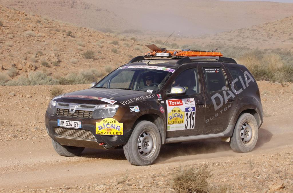 Der siegreiche Dacia Duster.