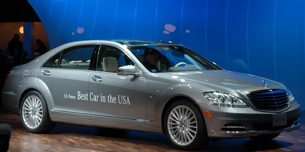 Die S-Klasse von Mercedes war zuletzt in den USA das beste Auto des Jahres.