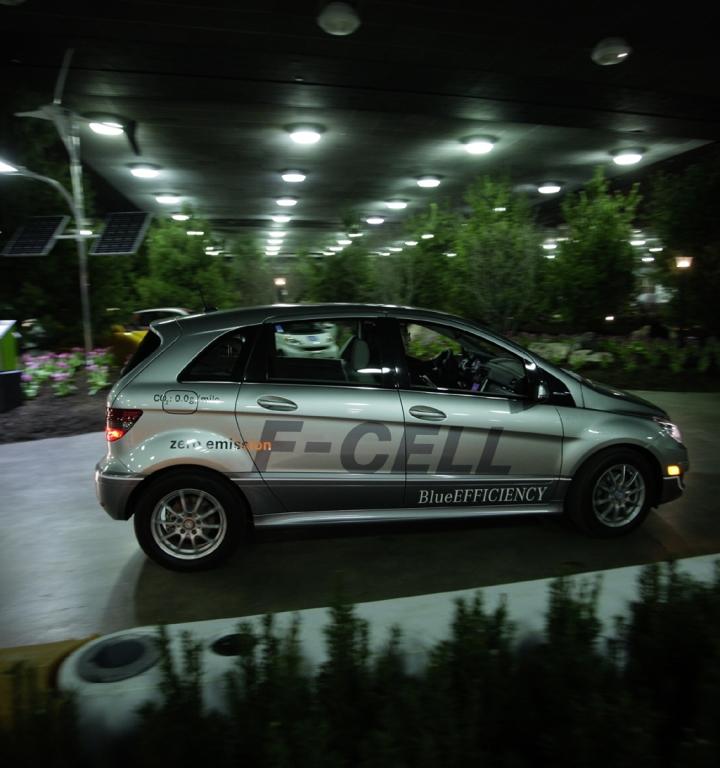Die neue Brennstoffzellen-B-Klasse von Mercedes.