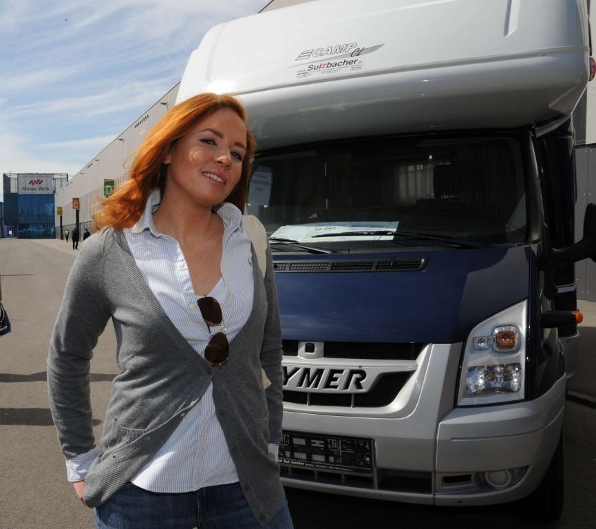 Führende Wohnmobilhersteller auf Messe blühendes Österreich