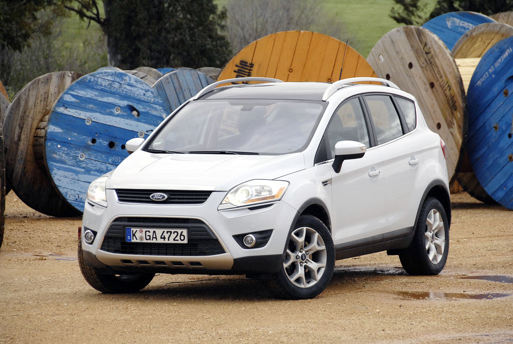 Fahrbericht Ford Kuga 2.0 TDCi: Kompakter Stelzengänger