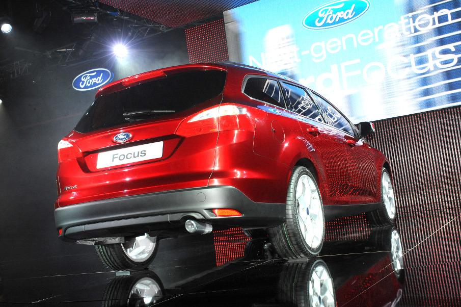 Ford Focus in Genf: Europapremiere als Kombi