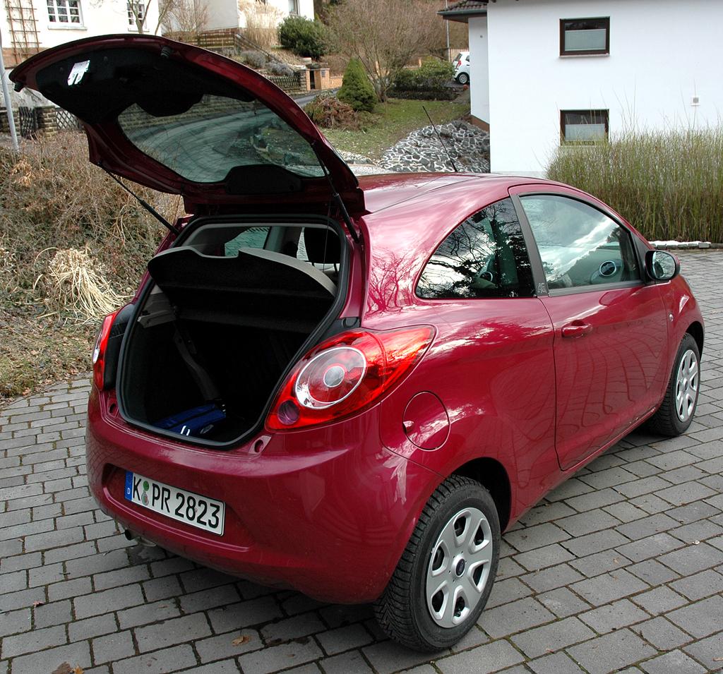 Ford Ka: Blick in den Kofferraum