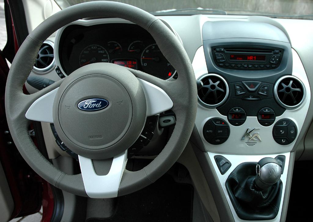 Ford Ka: Blick ins Cockpit