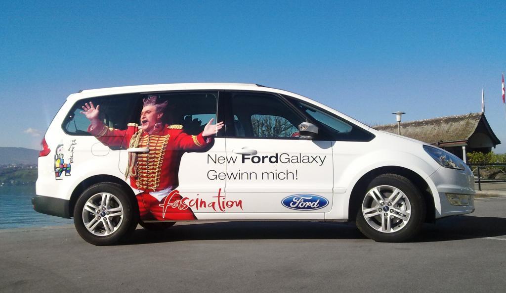 Ford bietet in der Schweiz Galaxy und S-Max als