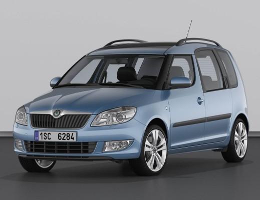 Genf 2010: Škoda Fabia und Roomster mit neuem Gesicht