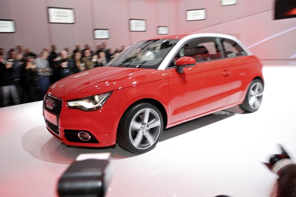 Genfer Salon 2010: Audi zeigt Mega City Vehicle A1 e-tron
