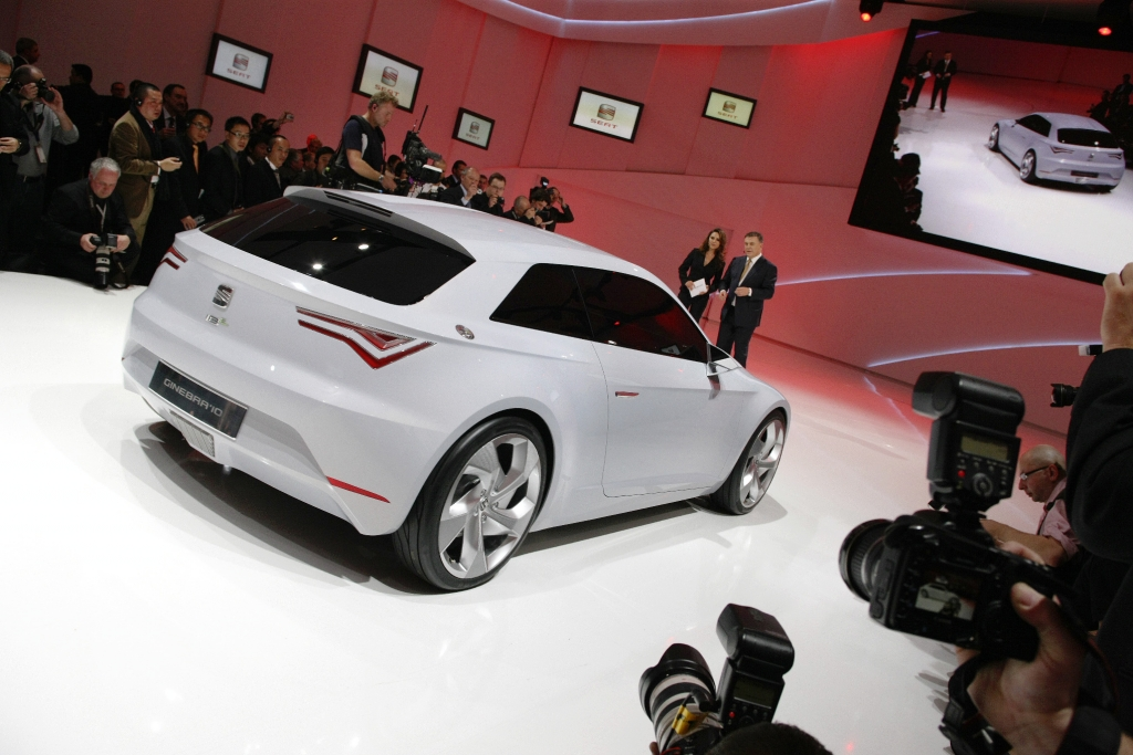 Genfer Salon 2010: Seat IBE, der junge Sportwagen für das Elektro-Zeitalter