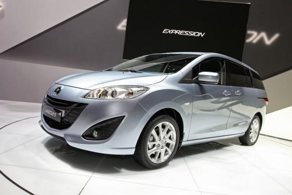 Genfer Salon 2010: Weltpremiere für neue Generation des Mazda 5