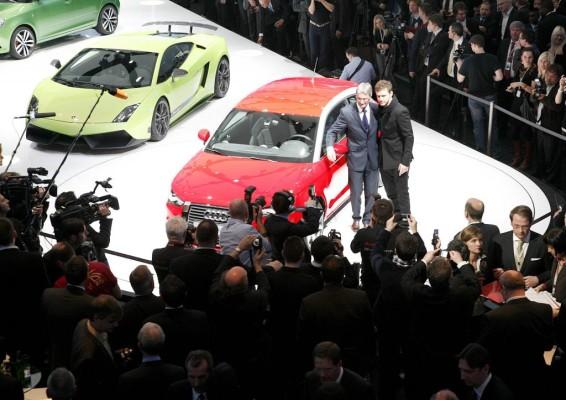 Genfer Salon 210: VW-Konzernabend gemeinsam mit Porsche & Co.