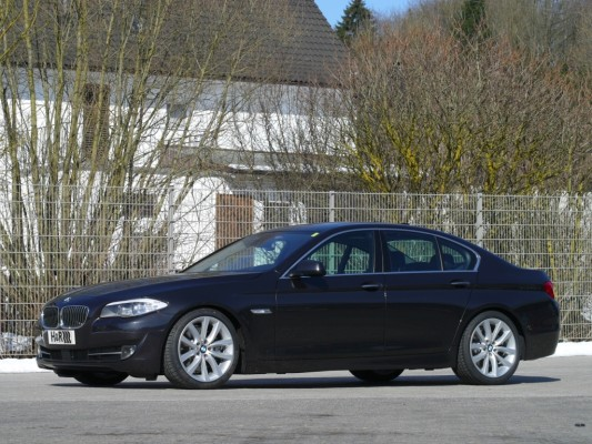 H&R BMW 5er: Limousinen-Dynamik