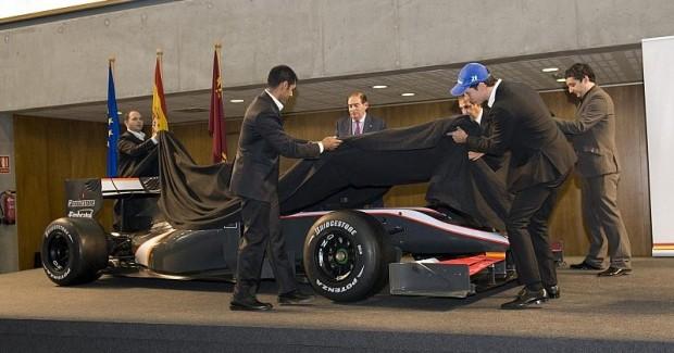 HRT F1 stellt Auto vor: Alle Teams sind komplett