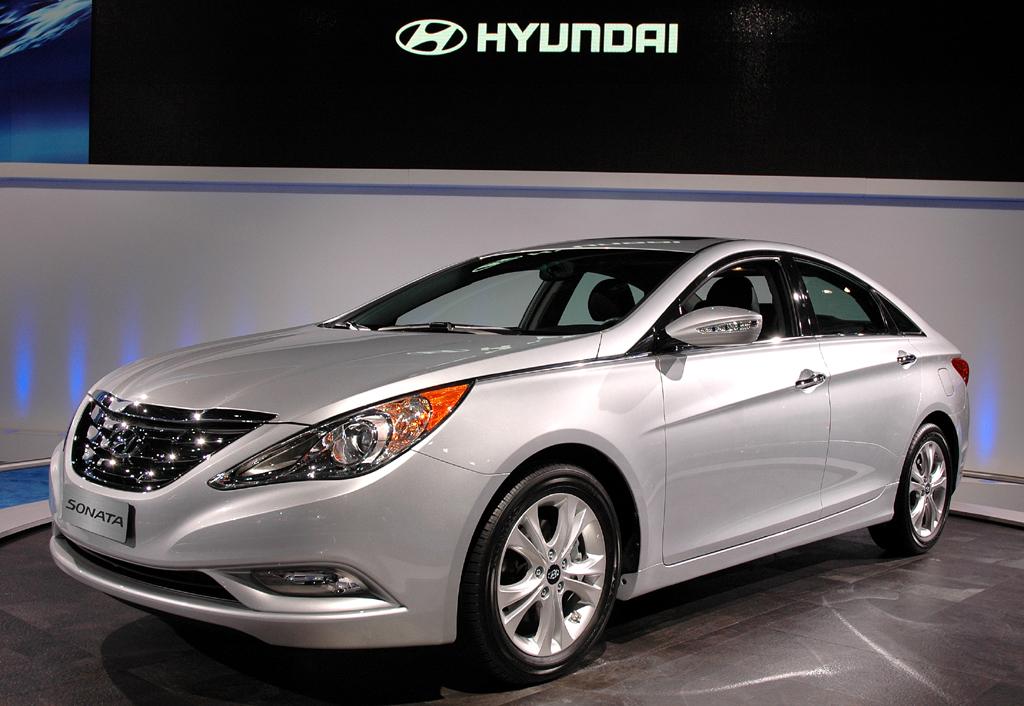 In Detroit vorgestellt: Hyundai Sonata.