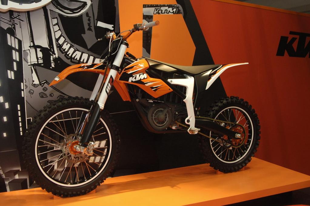KTM stellt Elektro-Motorrad vor