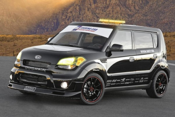Kia Soul als Safety Car