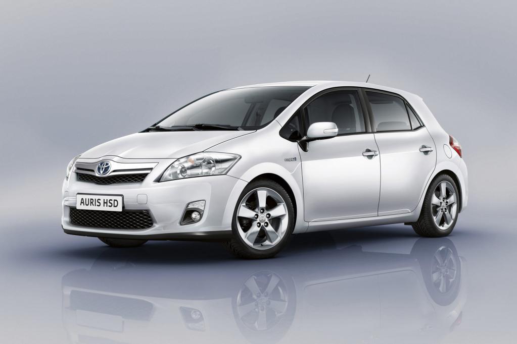 Kompakt-Hybrid von Toyota auf der AMI