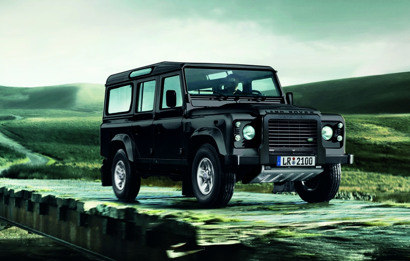 """Land Rover Defender """"Experience""""."""