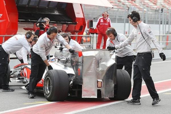 McLaren-Flügel illegal?: Auf dem FIA-Prüfstand