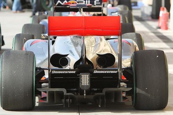McLaren spielt Diffusor-Änderungen herunter: Keine Auswirkung auf Performance