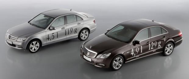 Mercedes-Benz senkt Verbrauch zweier Modelle