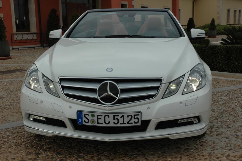 Mercedes E-Klasse Cabrio: Frontansicht.