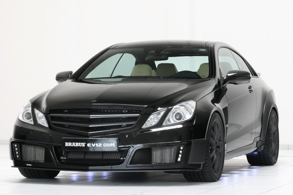 Mercedes E-Klasse Coupé in Brabus-Version