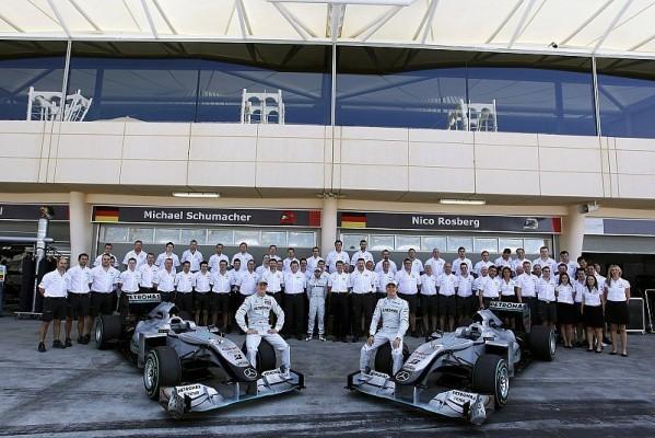 Mercedes GP muss nachlegen: Nicht schnell genug