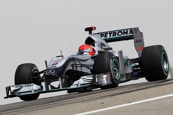 Mercedes GP noch nicht ganz zufrieden: Rosberg und Schumacher kamen vorwärts