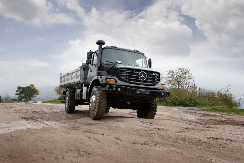 Mercedes Zetros: Der große Bruder des Unimog