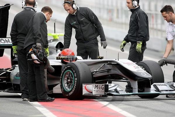 Mercedes in Bahrain mit Superdiffusor?: Keine Angst vor dem Silberpfeil