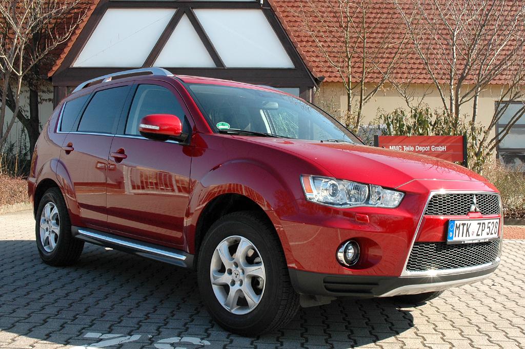Mitsubishis aktualisierter Outlander.