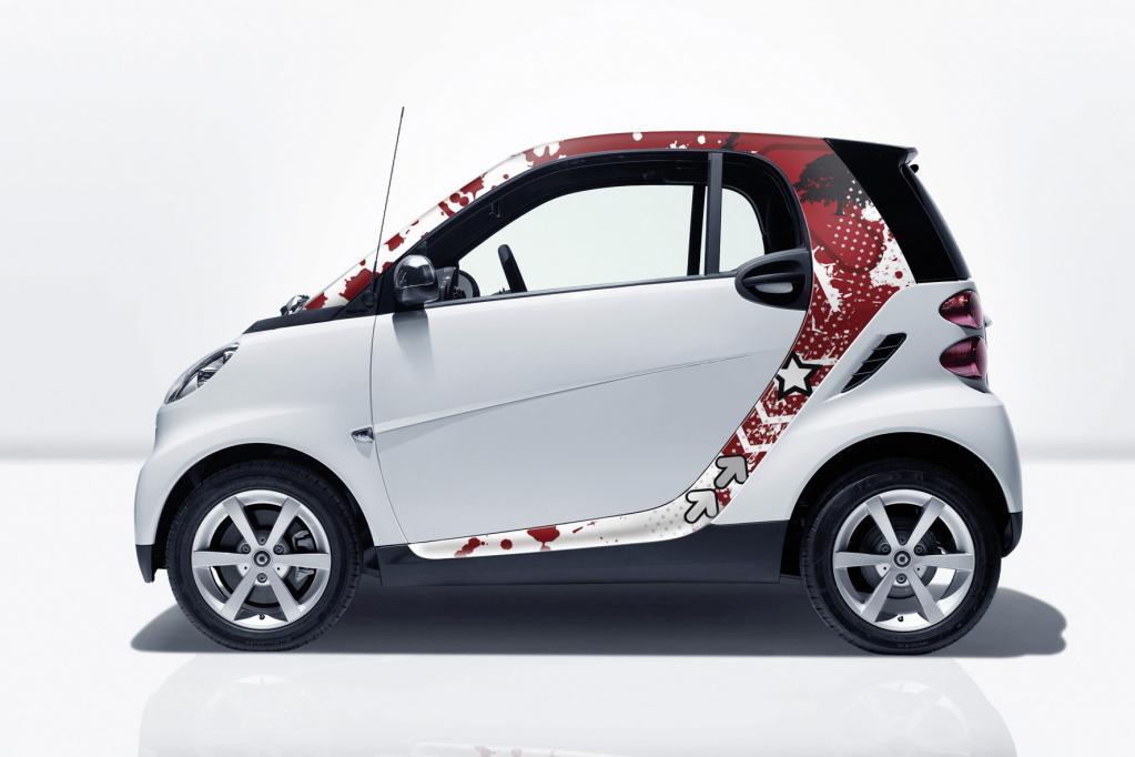 Neue Dekorfolien für Smart Fortwo