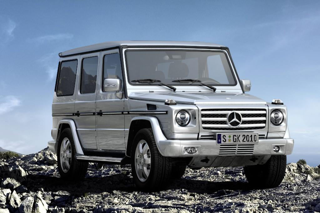 Neuer Bluetec-Diesel für Mercedes G-Klasse