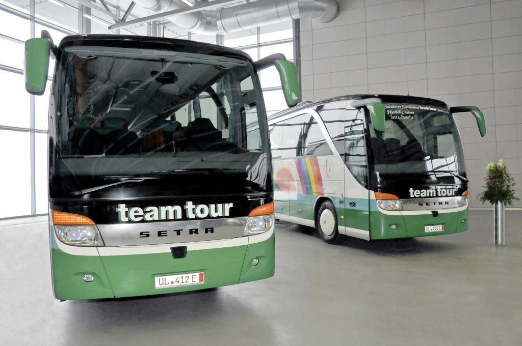 Norwegisches Reisebusunternehmen kauft vier weitere Setra