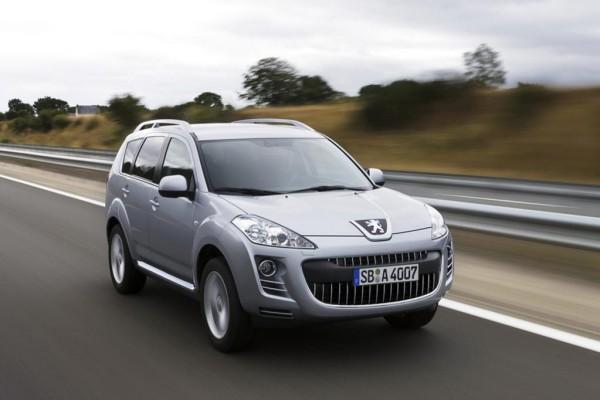 Peugeot 4007 nur noch mit Dieselmotor