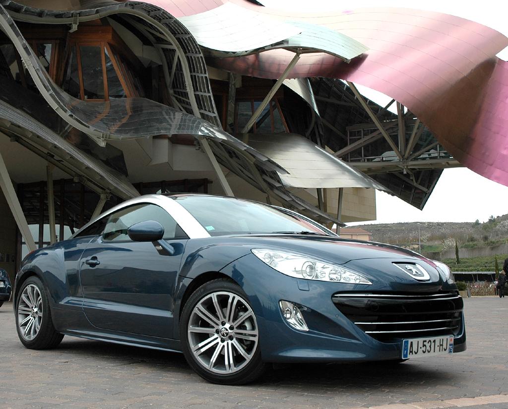 Peugeots neues RCZ-Sportcoupé. Foto: Koch