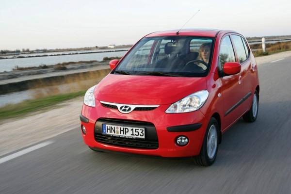 Pkw-Hitliste: Hyundai i10 schafft es an die Spitze der Kleinen
