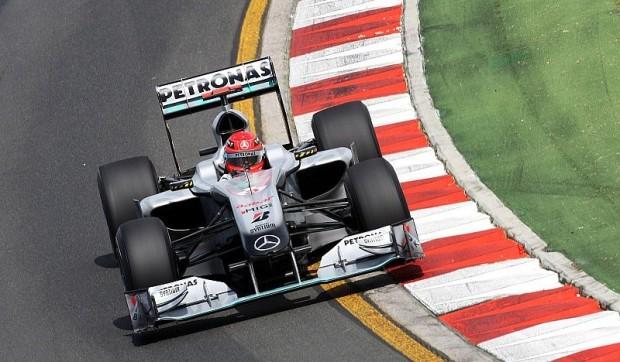 Positives für Schumacher und Rosberg: Der Mercedes fühlt sich besser an